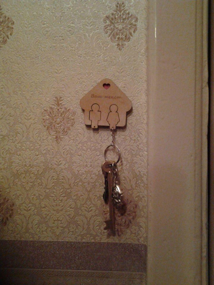 вешелка для ключей