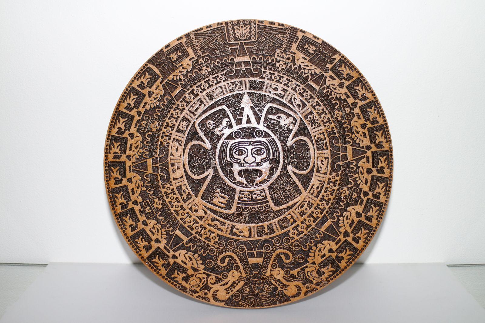 Календарь Майя малый