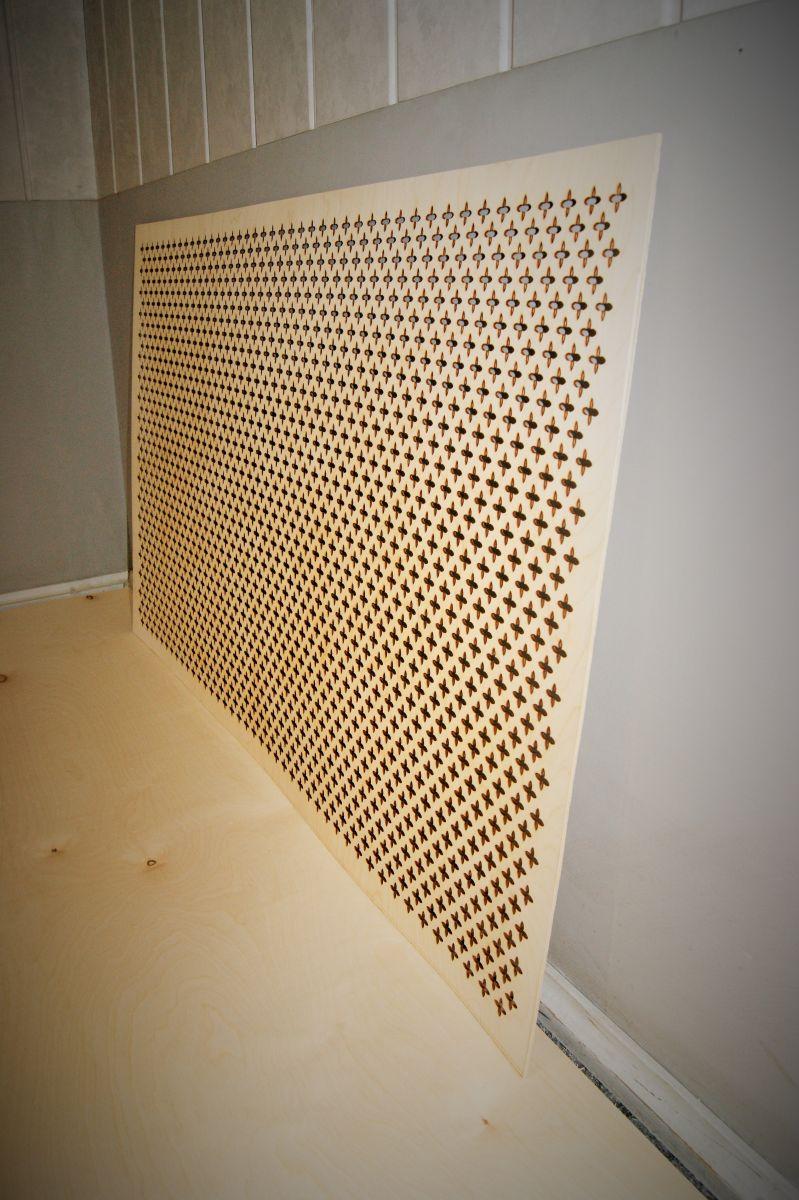 Решетка на радиатор